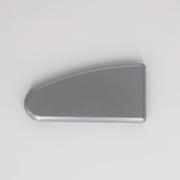 FEC2LH-0801-IWA Powder Coated Aluminium, Left Hand Headrail End Cap